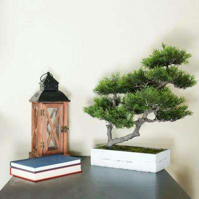 18 in. Artificial Japanese Bonsai Tree Box