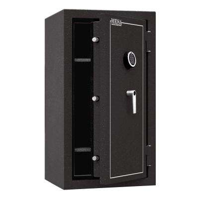 6.4 cu. ft. All Steel Burglary and Fire Safe with Electronic Lock, Hammered Grey