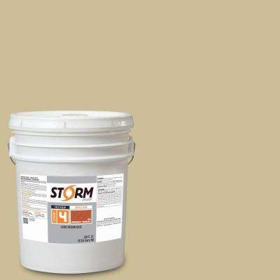 Category 4 5 gal. Sunset Beige Exterior Wood Siding, Fencing and Decking Acrylic Latex Stain with Enduradeck Technology