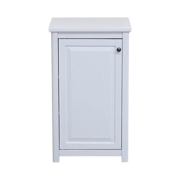 Dorset 17 in. W x 29 in. H Freestanding Floor Bath Storage Cabinet with Door in White