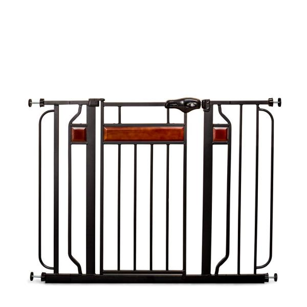 Home Accents 30 in. Metal Walk-Through Safety Gate