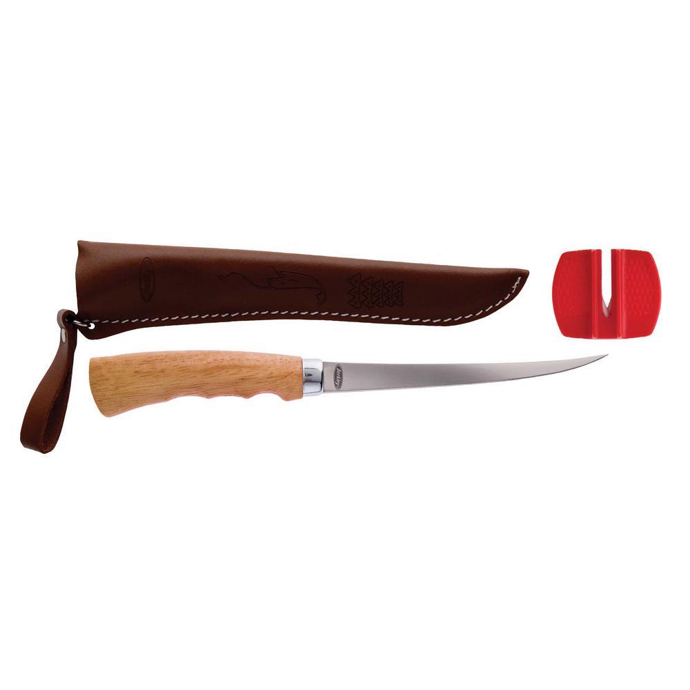 6 in. Wooden Handle Fillet Knife