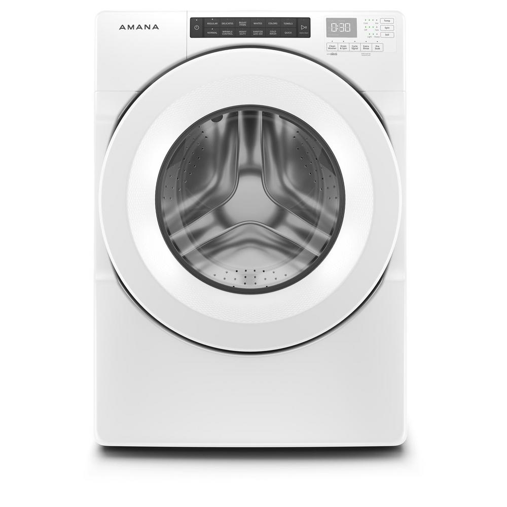 Amana 4.3 cu. ft. ENERGY STAR Qualified White Front Load Washer with Large Capacity