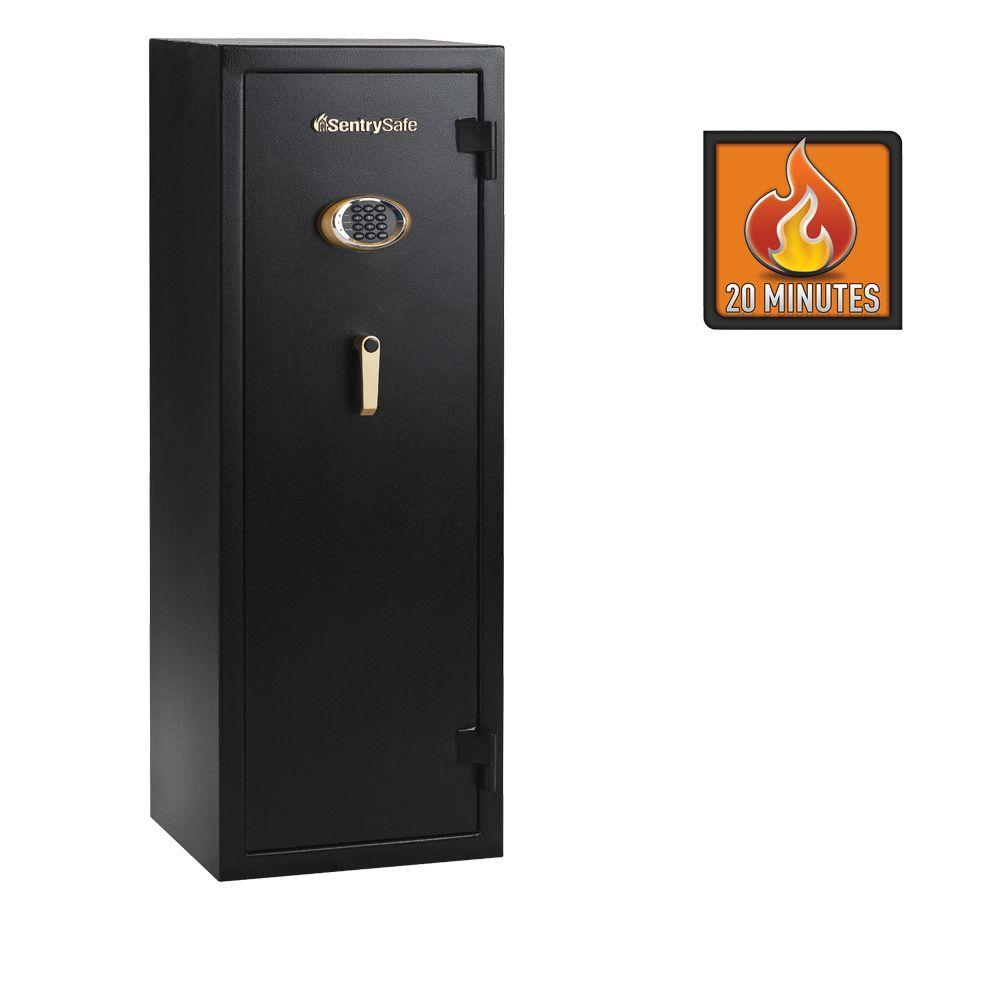 SentrySafe 10 Gun Electronic Lock Fire Safe-DISCONTINUED
