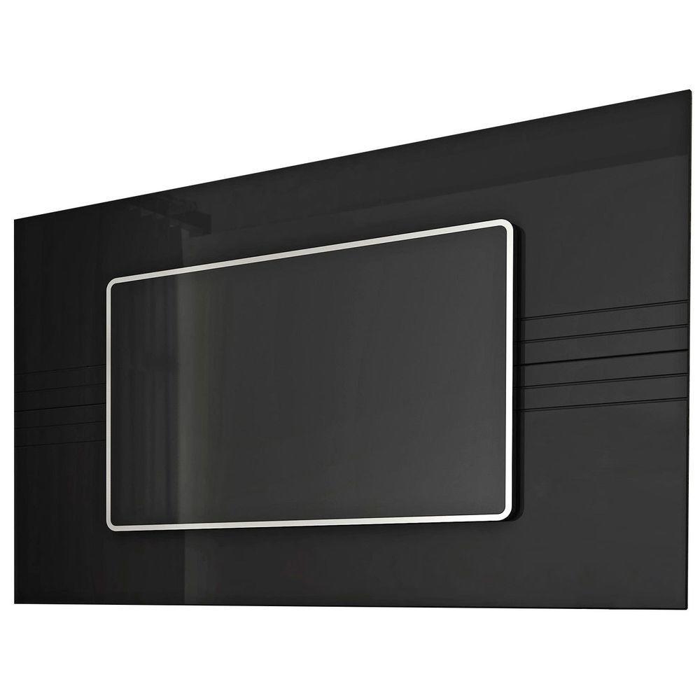 Manhattan Comfort Claremont 1.3 TV Panel in Black/Pro Touch