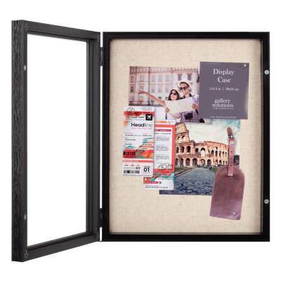 11 in. x 14 in. Black Shadow Box Picture Frame