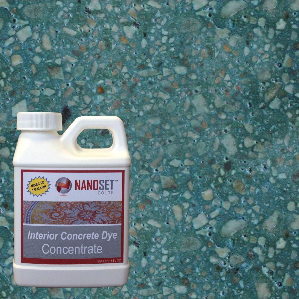 NanoSet Color 8-oz. Emerald Interior Concrete Dye Stain Concentrate