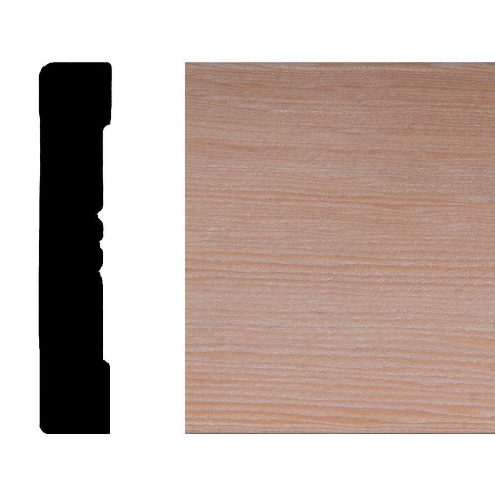 LWM 433 5/8 in. x 3-1/4 in. Hemlock Wood Casing Moulding
