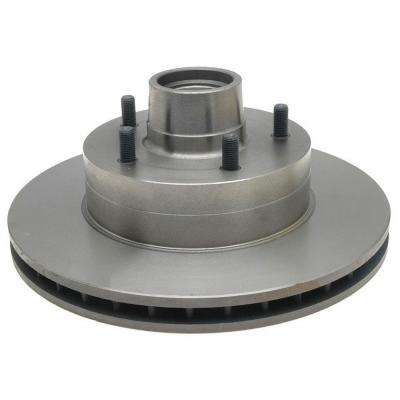 Professional Grade Disc Brake Rotor & Hub Assembly - Front