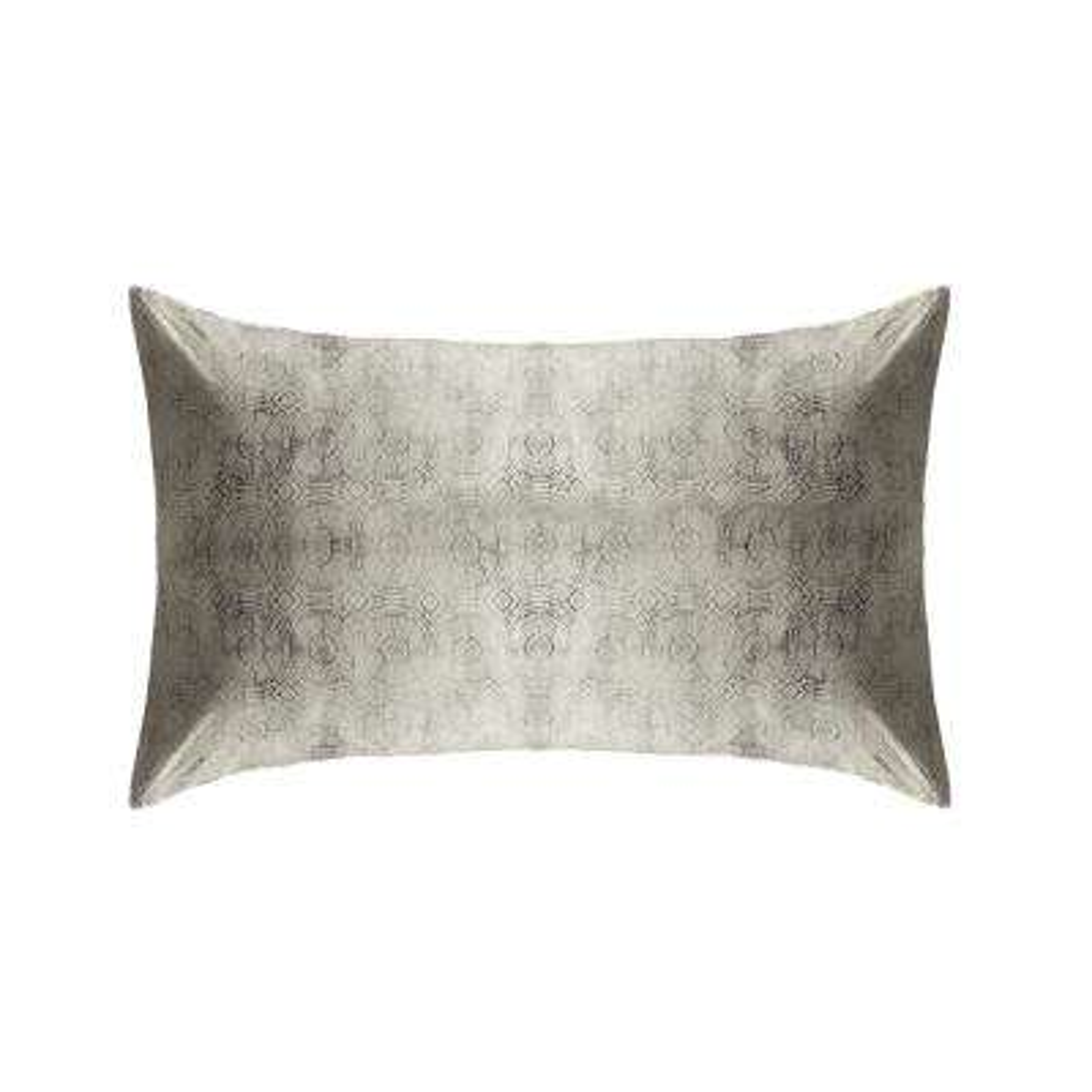 Safari Reversible Print Beige 100% Organic Cotton Queen Sham (Set of 2)