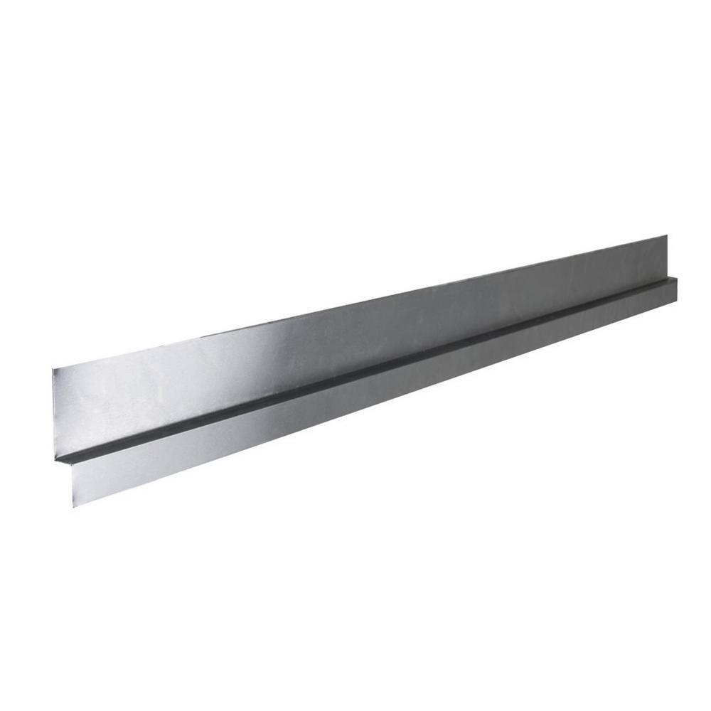 Tile Redi TRZF3460-BI Redi Shower Flashing 34 D x 60 W Silver