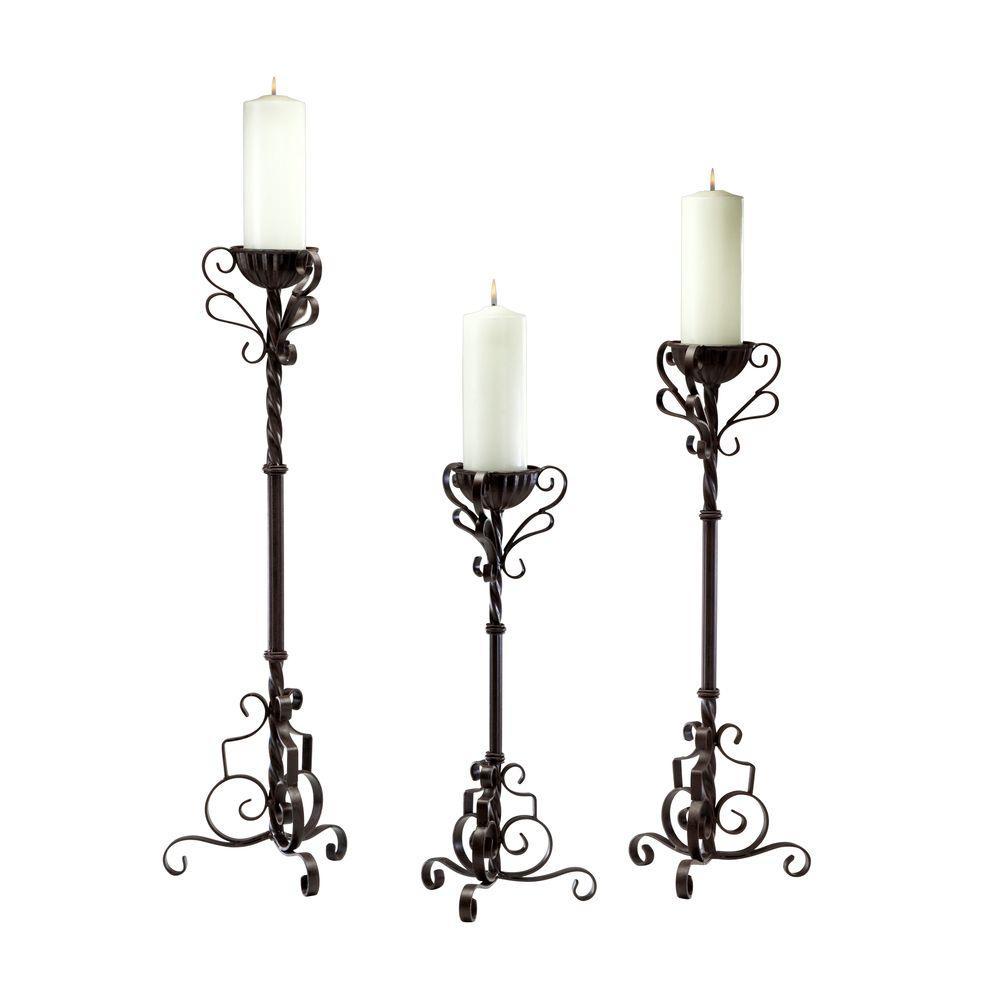 Filament Design Prospect 21.5 in. Bronze Candle Holder