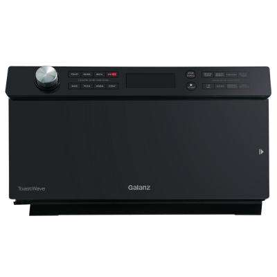 1.2 cu. ft. Countertop ToastWave 4-in-1 Convection Oven, Air Fry, Toaster Oven, Microwave in Black