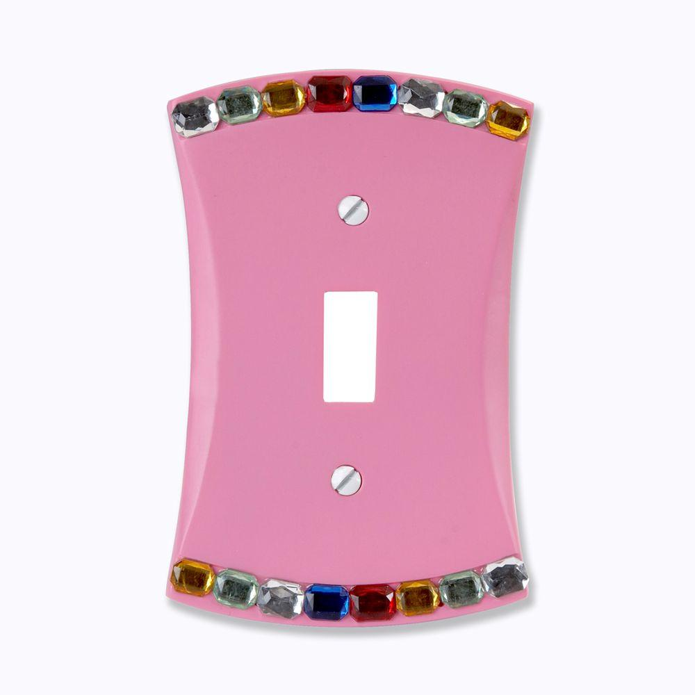 Amerelle Jewel 1 Toggle Wall Plate