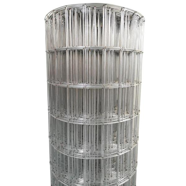 Acorn International 72 In X 50 Ft 14 Guage Galvanized Welded Wire Ww147250 The Home Depot