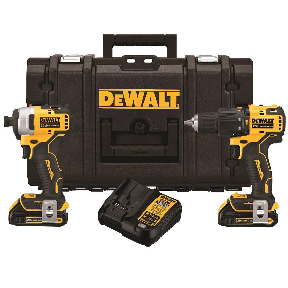 Deals on DeWalt ATOMIC 20-Volt MAX Cordless Hammer Combo Kit (2-Tool)