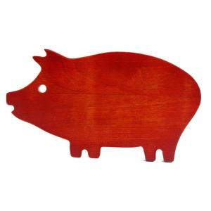 Hollydale Pig Wooden Cutting Board by