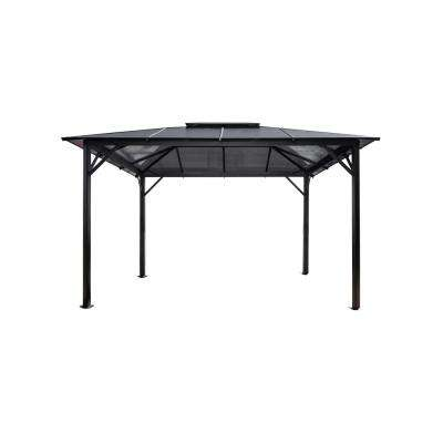 10 ft. x 12 ft. Hard Top Gazebo with Poly-Carbonate Canopy