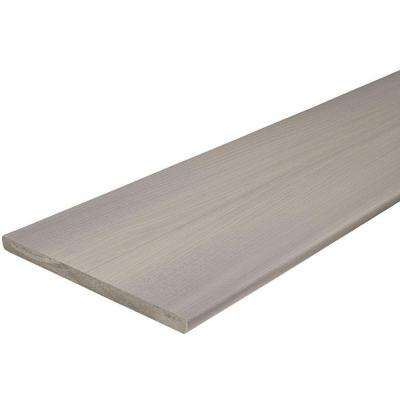 ArmorGuard 3/4 in. x 11-1/4 in. x 12 ft. Seaside Gray Capped Fascia Composite Decking Board (10-Pack)