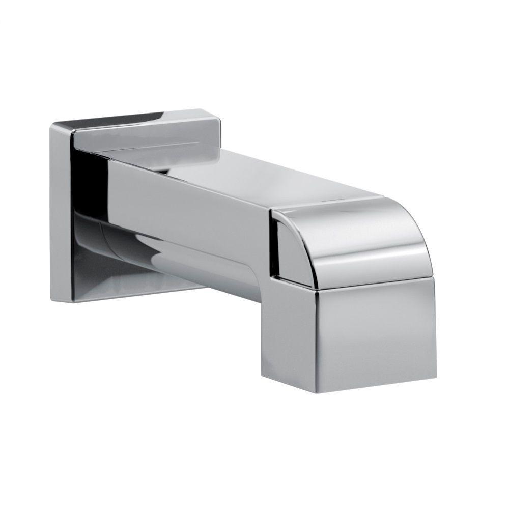 Ara Pull-Up Diverter Tub Spout, Chrome