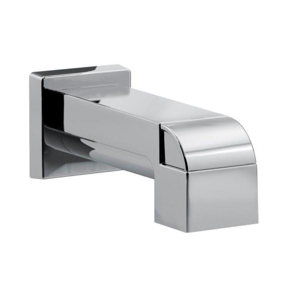 Ara Pull-Up Diverter Tub Spout, Chrome