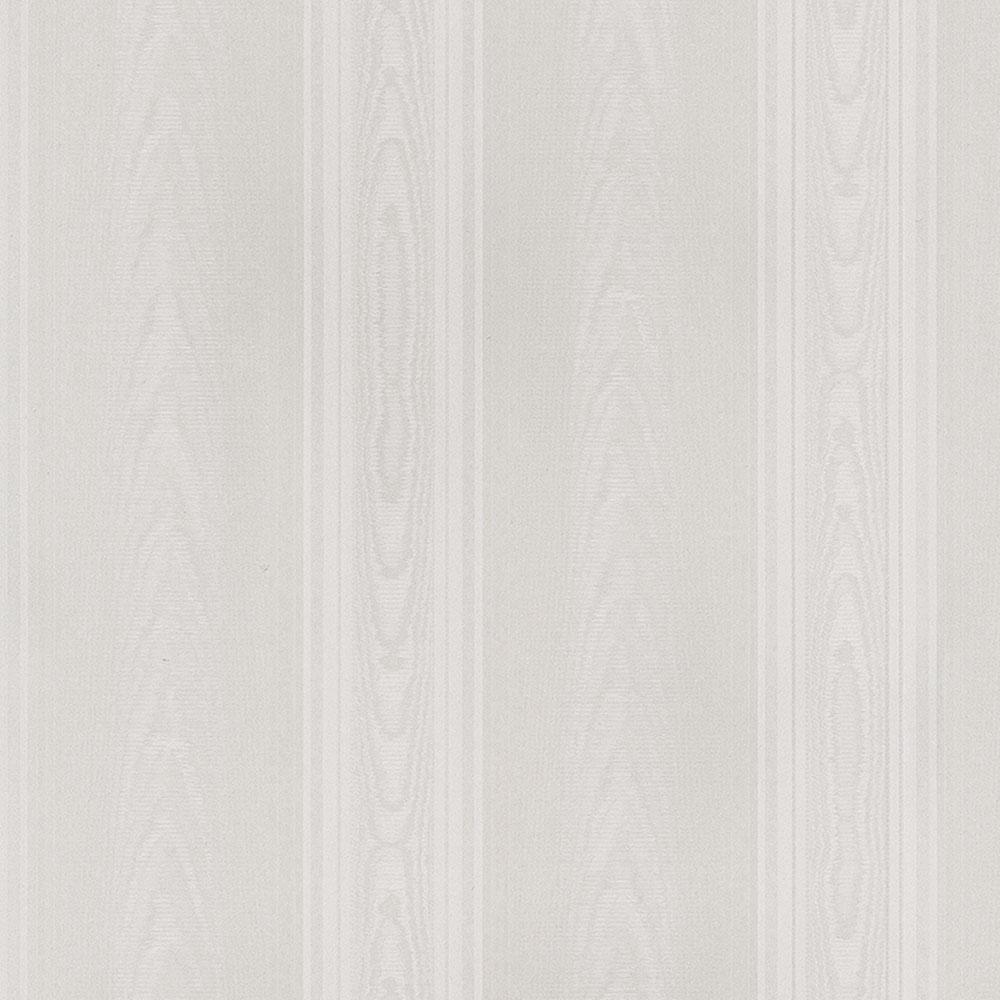 Norwall Medium Moir Stripe Wallpaper SK34731