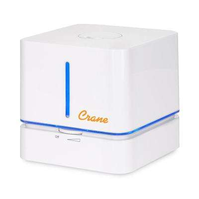 0.5 Gal. Cube Ultrasonic Cool Mist Humidifier