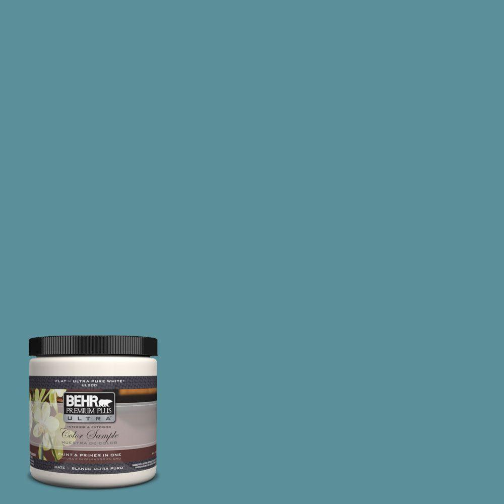 BEHR Premium Plus Ultra 8 oz. #520F-5 Harbor Interior/Exterior Paint Sample