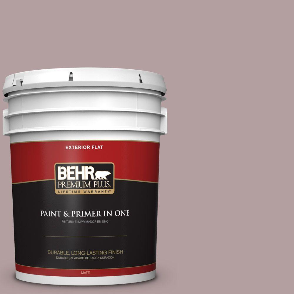 BEHR Premium Plus Home Decorators Collection 5-gal. #HDC-CT-18 Violet Vista Flat Exterior Paint