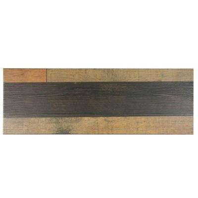 Madera Mix 7-7/8 in. x 23-5/8 in. Ceramic Floor and Wall Tile (11.6 sq. ft. / case)