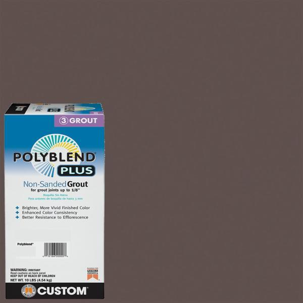Polyblend Plus #647 Brown Velvet 10 lb. Non-Sanded Grout