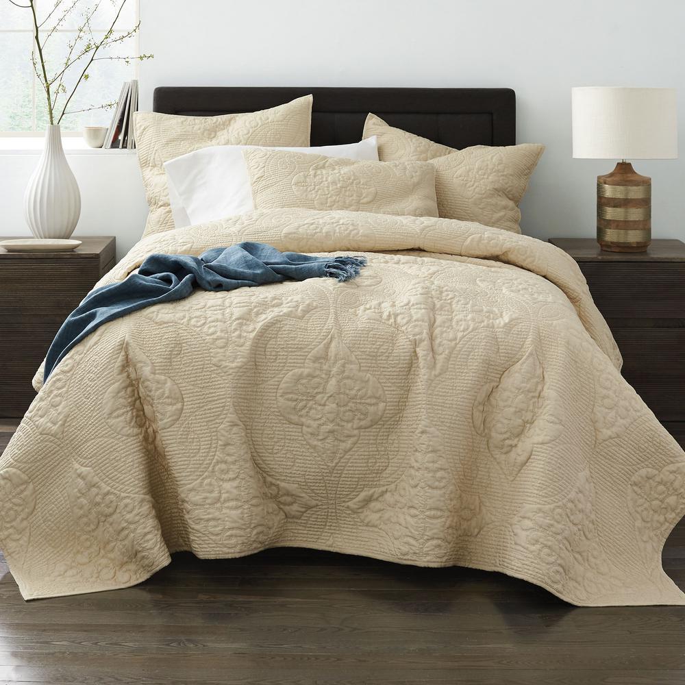 Majesty Cotton Blend Textured Quilt