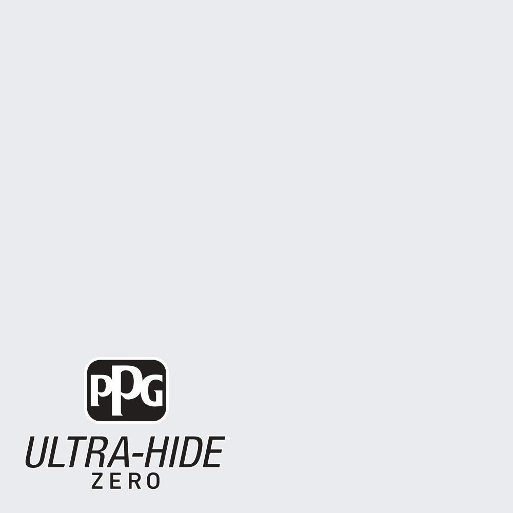 PPG 1 gal. #HDPCN35 Ultra-Hide Zero Nova White Eggshell Interior Paint