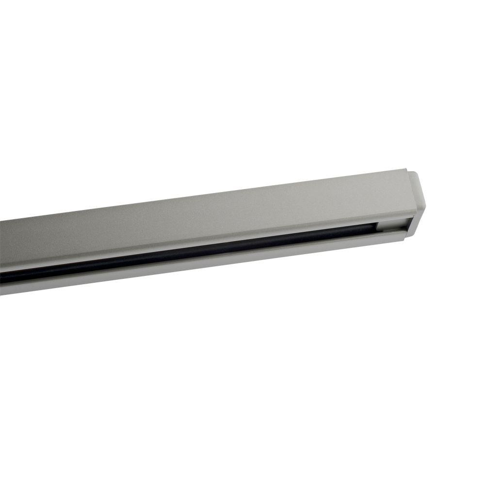 Designers Choice Collection 8 ft. Brushed Steel Lighting Track