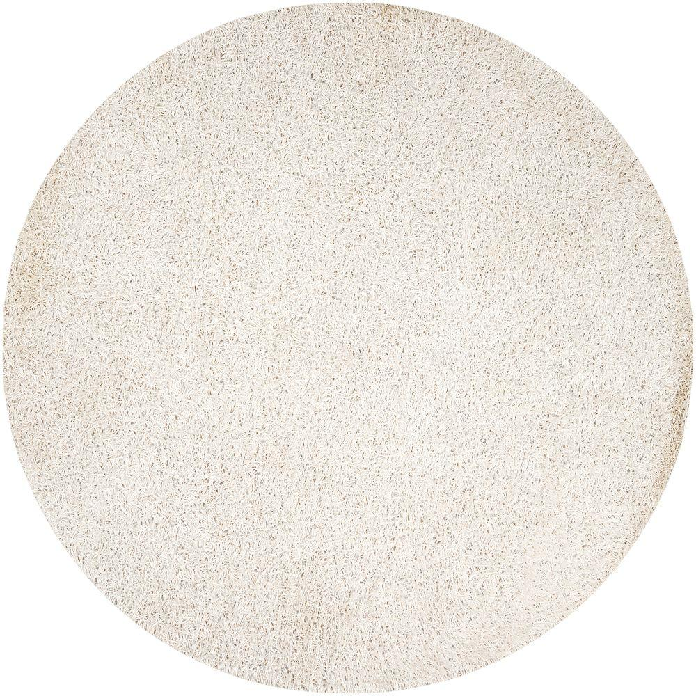 Artistic Weavers Lindon White 10 ft. Round Area Rug