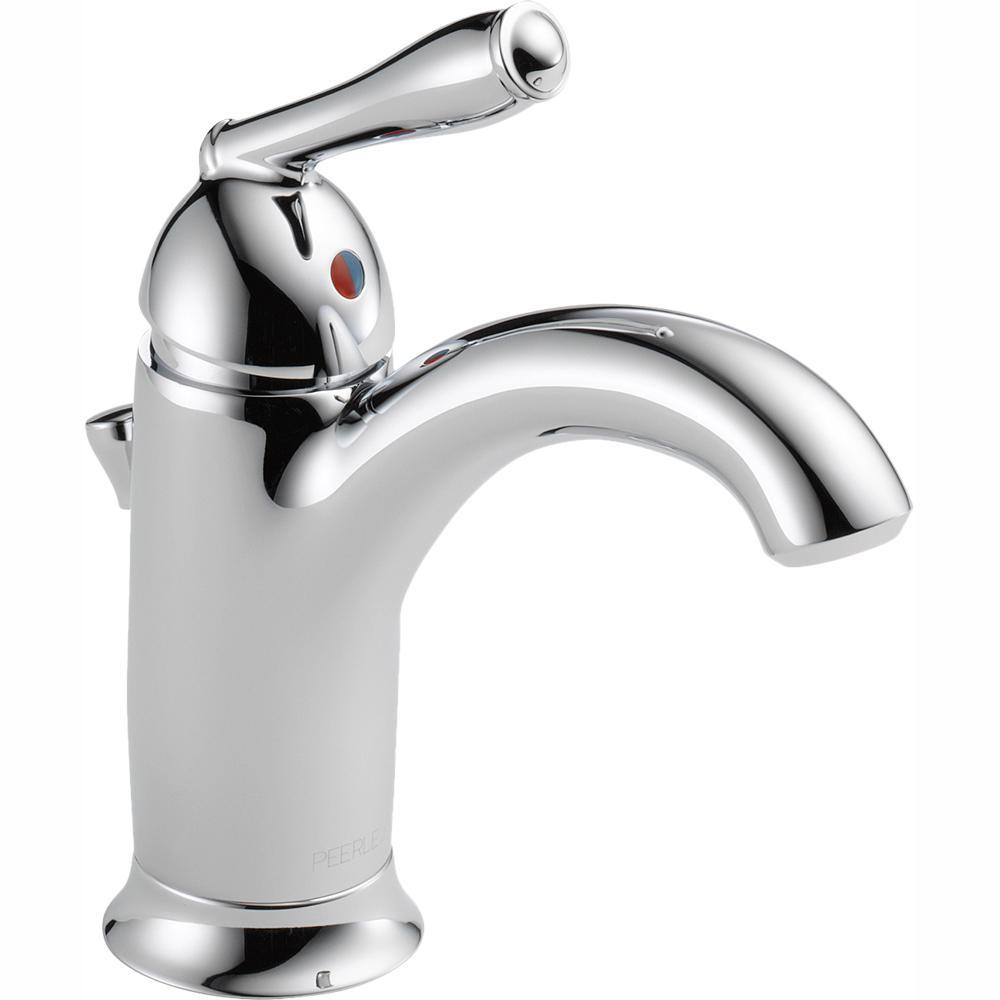 Peerless Apex Single Hole Single-Handle Bathroom Faucet in Chrome