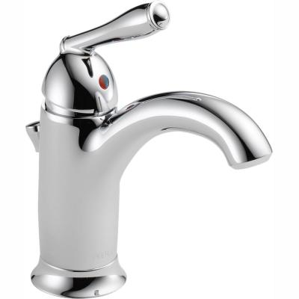 Claymore Single Hole Single-Handle Bathroom Faucet in Chrome
