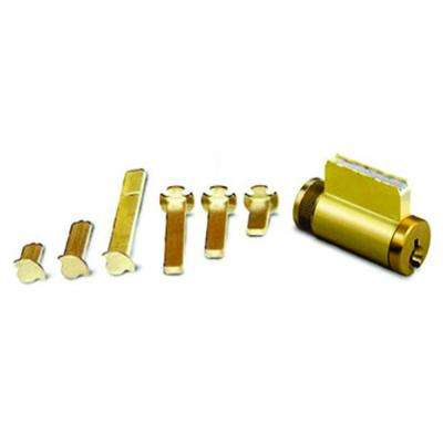 Universal 5-Pin Schlage (SC1) Cylinder with 6 Tail Pieces