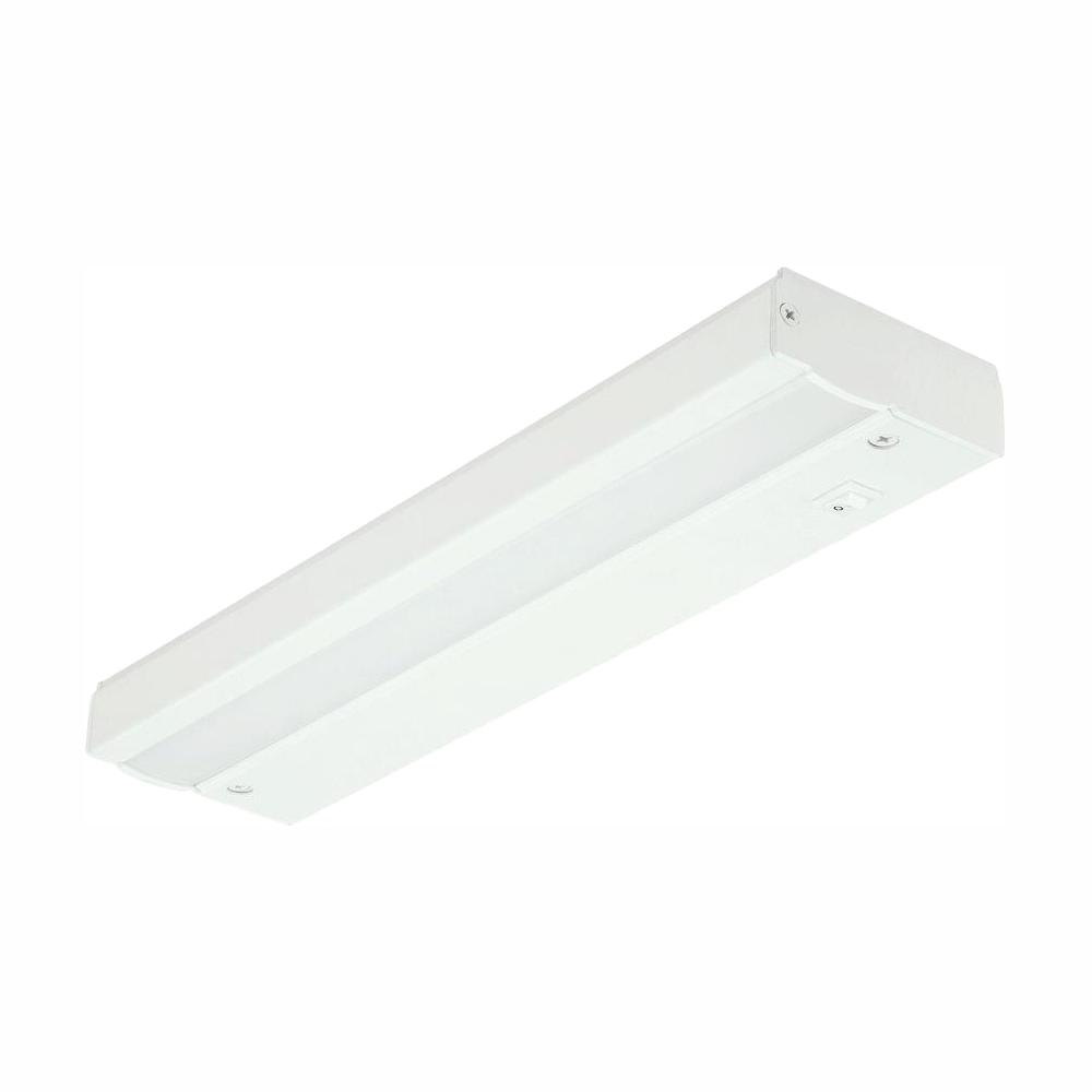 Commercial Electric 12 in. White LED Direct Wire Under Cabinet Light