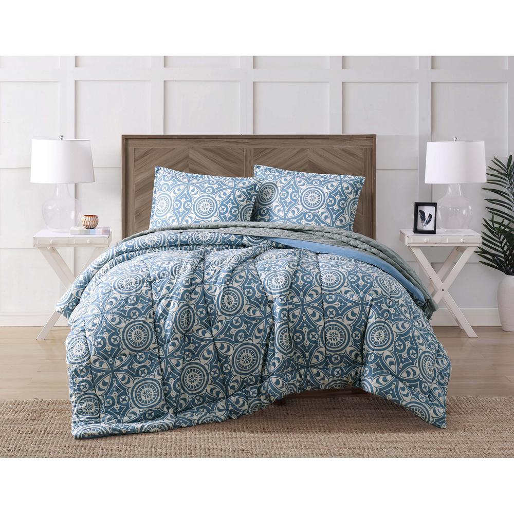 Pine Harbor Geometric King comforter Set