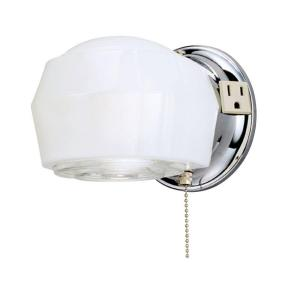 westinghouse 1 light chrome interior wall fixture 6640200 the home