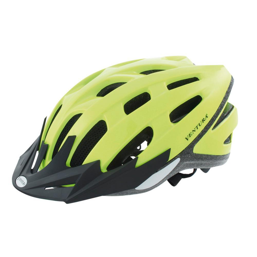 Ventura Neon Safety Sport Medium Bicycle Helmet