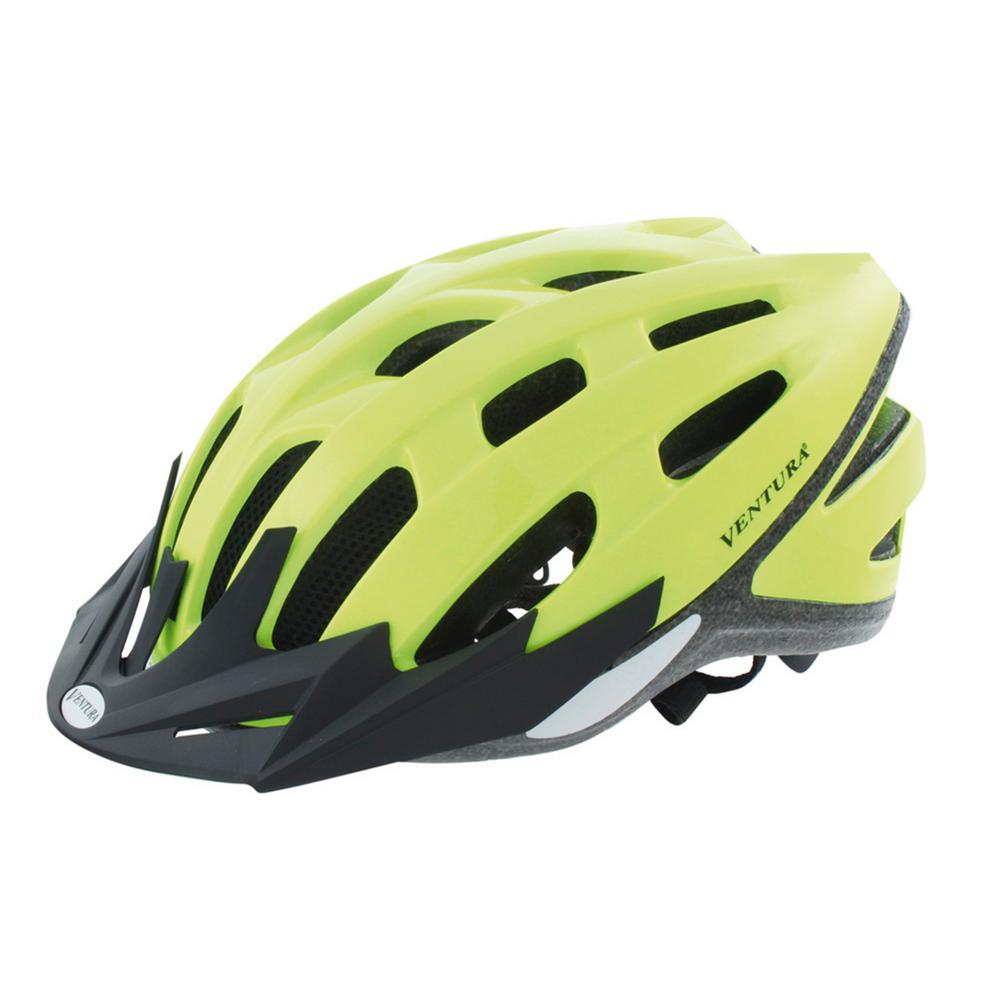 Neon Safety Sport Medium Bicycle Helmet