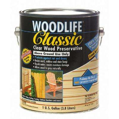 1 Gal. Classic Clear Above Ground Wood Preservative (4-Pack)