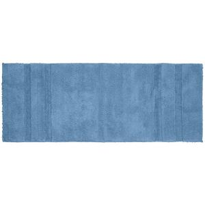 Garland Rug Majesty Cotton Sky Blue 22 In X 60 In Washable Bathroom Accent Rug Pri 2260 03