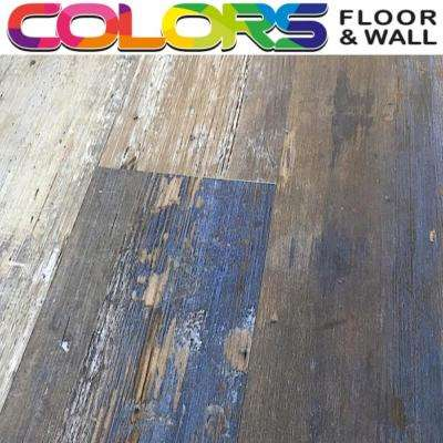 Take Home Sample Colors Floor and Wall DIY Samba Wood Aged 6 in. x 6 in. Painted Style Luxury Vinyl Plank