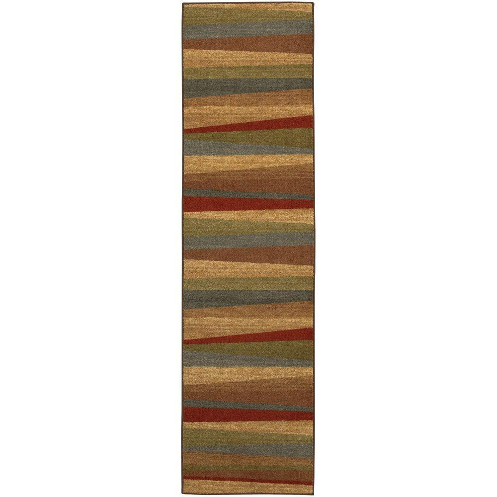 Mohawk Home Mayan Sunset Sierra 2 Ft X 8 Runner Rug