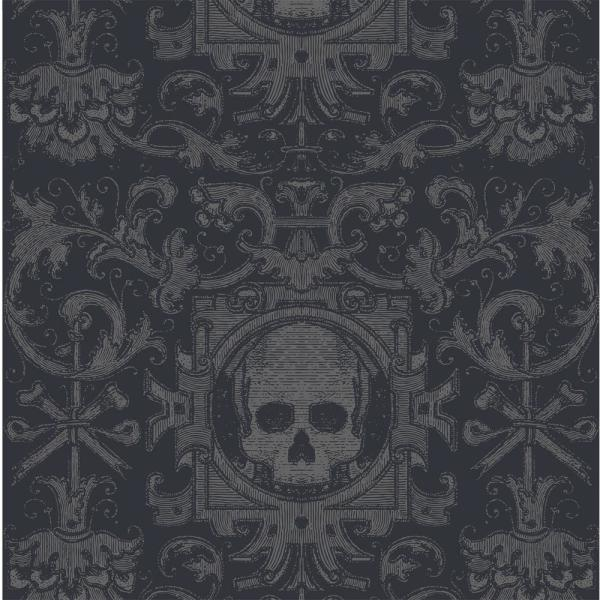 Mitchell Black Debut Collection Skull Box In Black Removable