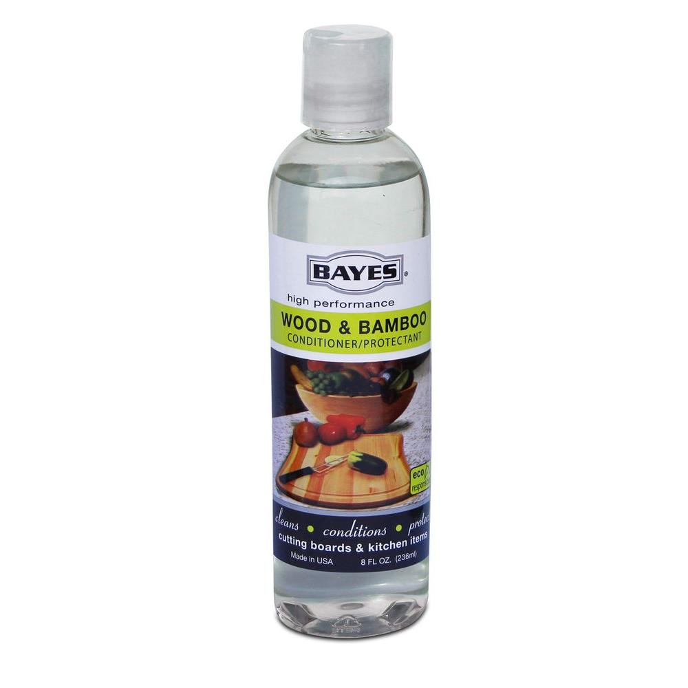 Bayes High-Performance Food Grade Mineral Oil Wood & Bamboo Conditioner/Protectant (6-Case)