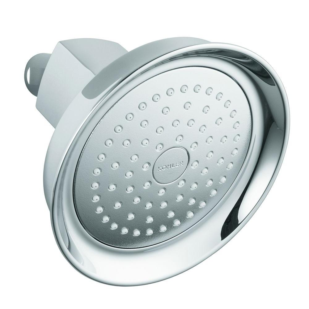 KOHLER Margaux 1-Spray Single Function 5.5 in. Katalyst Showerhead ...